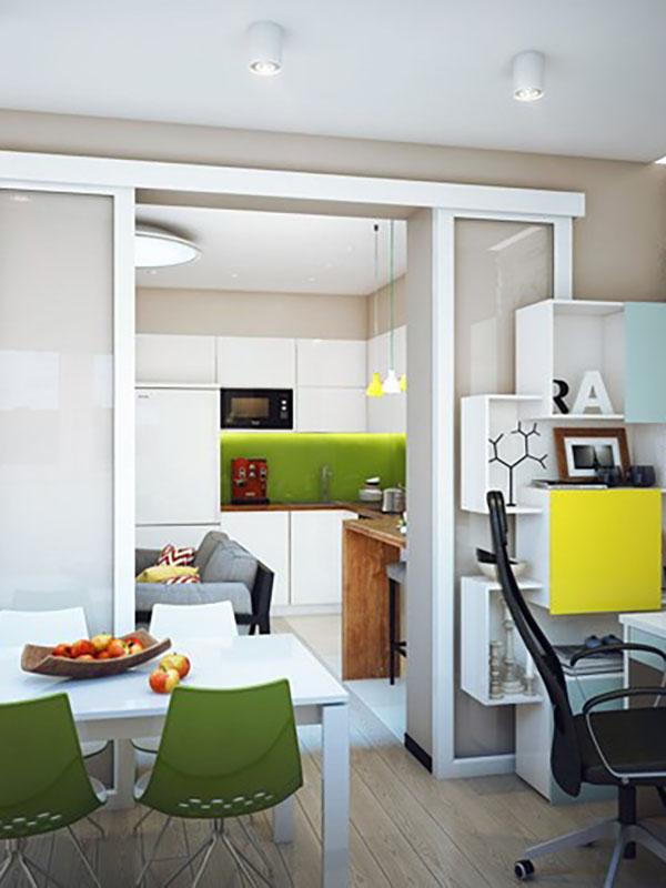 Những mẫu thiết kế nội thất cho nhà diện tích nhỏ