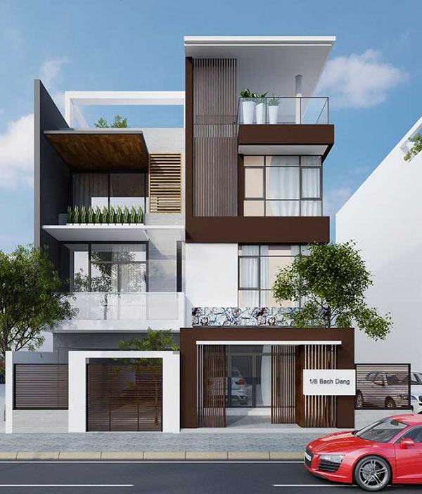 mẫu-01-4 Những mẫu nhà mặt phố đẹp, hợp phong thủy