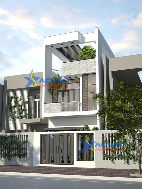Tư vấn thiết kế nhà phố 5×20 hiện đại