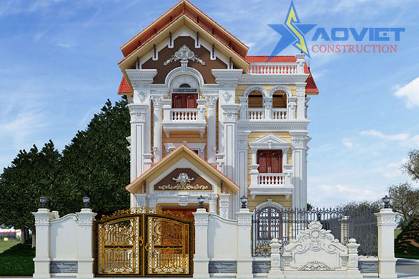 mẫu kiến trúc pháp