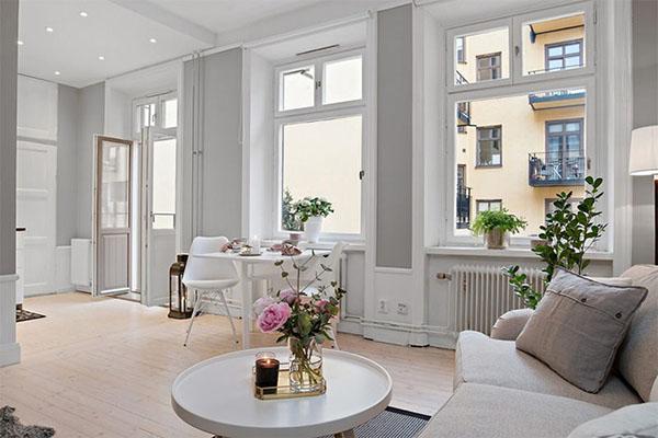 1-1 Những mẫu thiết kế nội thất cho nhà diện tích nhỏ
