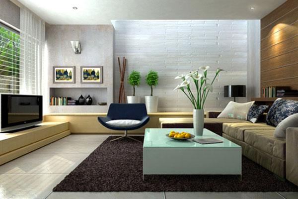 7-1 Mẫu thiết kế phòng khách