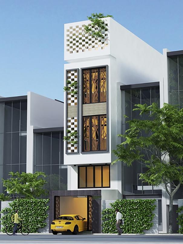 Thiết kế mặt bằng nhà phố