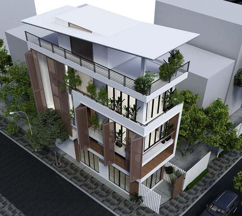 1-4 Những mẫu nhà 3 tầng mơ ước