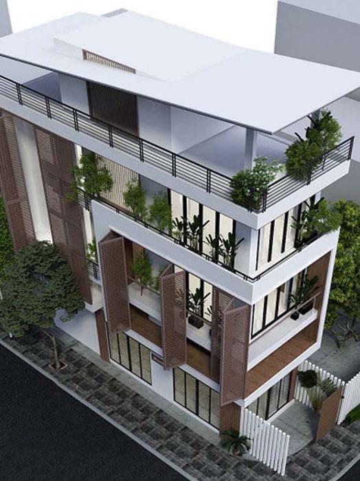 Những mẫu nhà 3 tầng mơ ước
