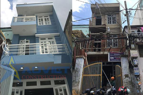 Xây dựng nhà trọn gói quận bình tân nhà chú sắc