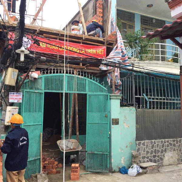 Dịch vụ sửa chữa nhà uy tín chuyên nghiệp giá rẻ tại Xây Dựng Sao Việt