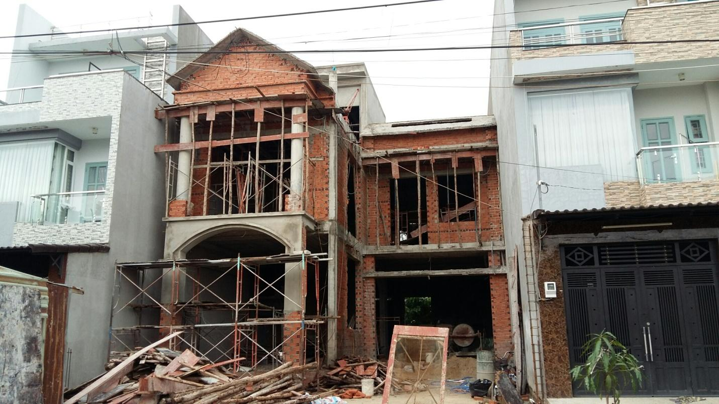 Công ty xây dựng nhà phần thô tại Tphcm
