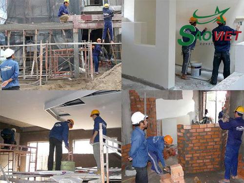 Nhận sửa nhà chuyên nghiệp, chất lượng nhất, bền đẹp theo thời gian