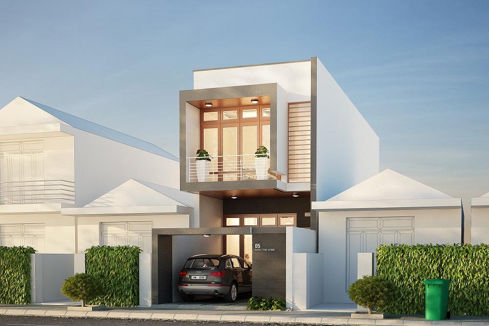 xây nhà 2 tầng giá rẻ 1
