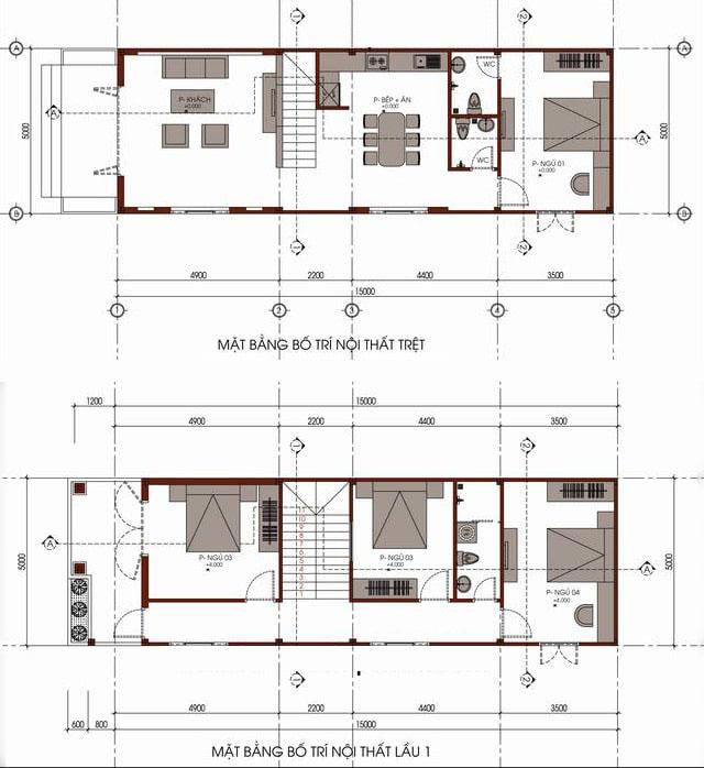 xây nhà 2 tầng giá rẻ 2
