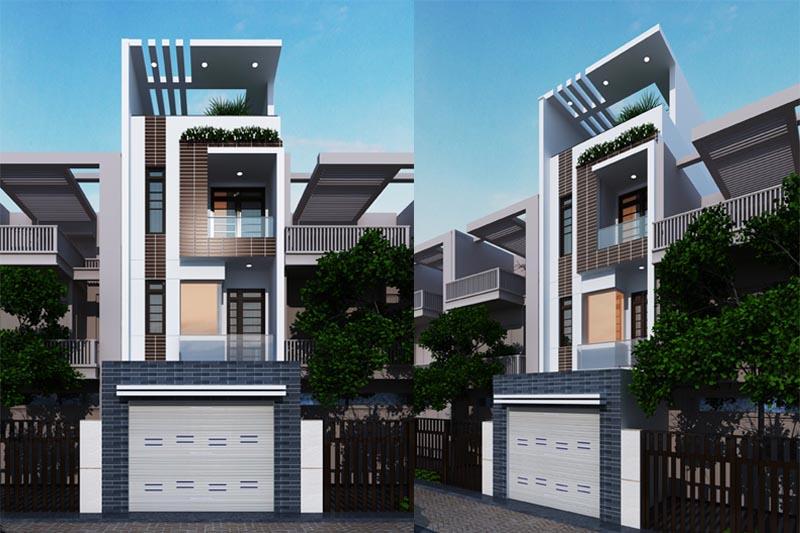xây nhà phố đẹp