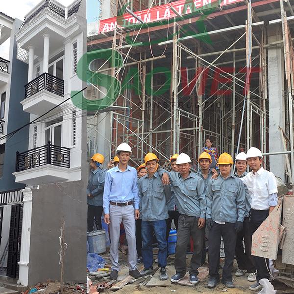 Dự án xây nhà phần thô Quận 12