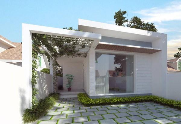 Cách xây nhà mặt tiền 7m tiết kiệm chi phí