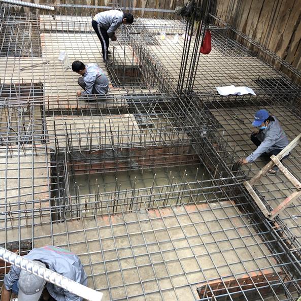 Dự án thi công tầng hầm