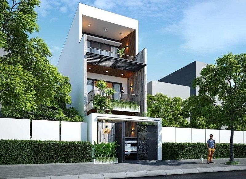 NHA-PHO Giá xây nhà phố 3 tầng