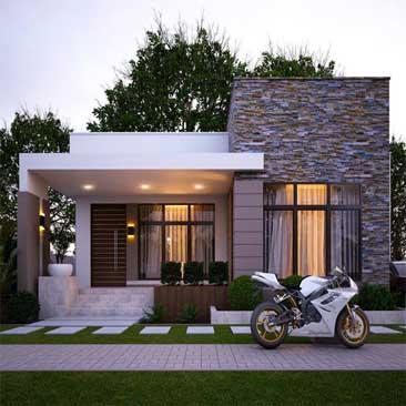 Xây dựng nhà vườn đẹp