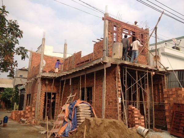 Dịch vụ xây nhà phần thô quận tân bình