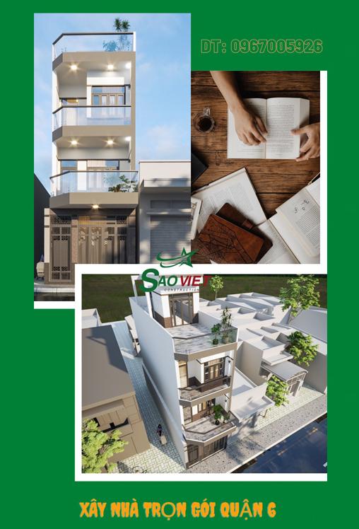 1f449 Mẫu thiết kế nhà phố quận 6