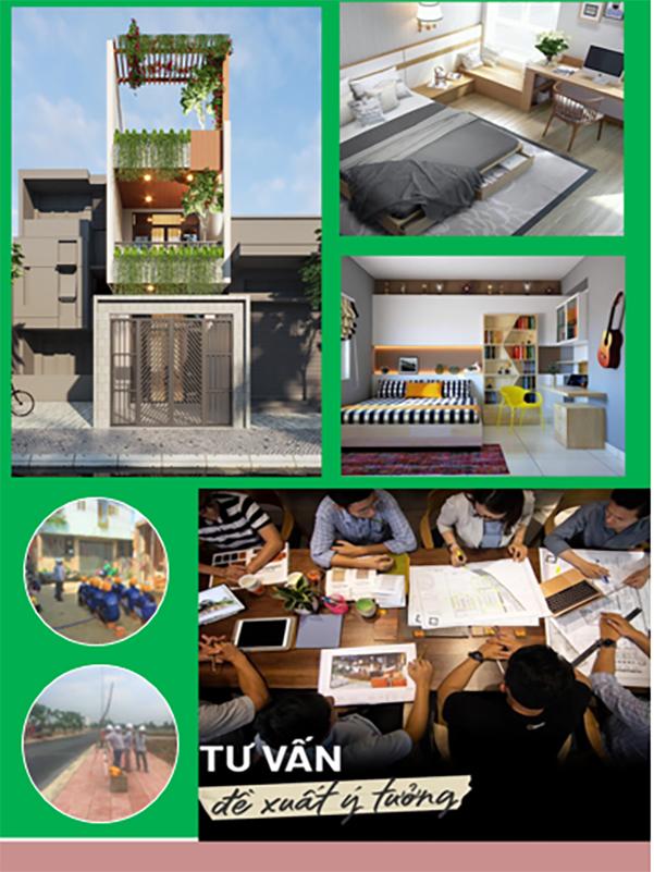 Thiết kế nhà phố 1 trệt 2 tầng Quận Phú Nhuận