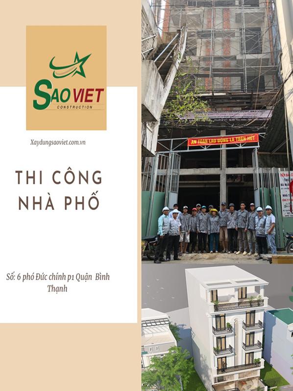 Dự án xây nhà trọn gói Quận Bình Thạnh