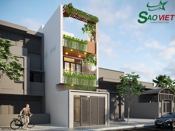 phong-khach Thiết kế nhà phố 1 trệt 2 tầng Quận Phú Nhuận