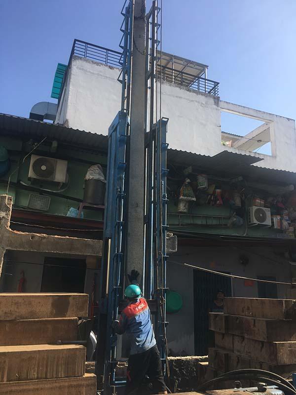cung-dong-tho Xây nhà phần thô nhà chú Dẫu Quận Bình Tân