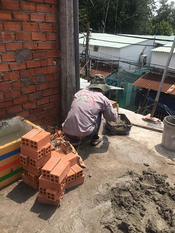 Xây nhà phần thô huyện Bình Chánh