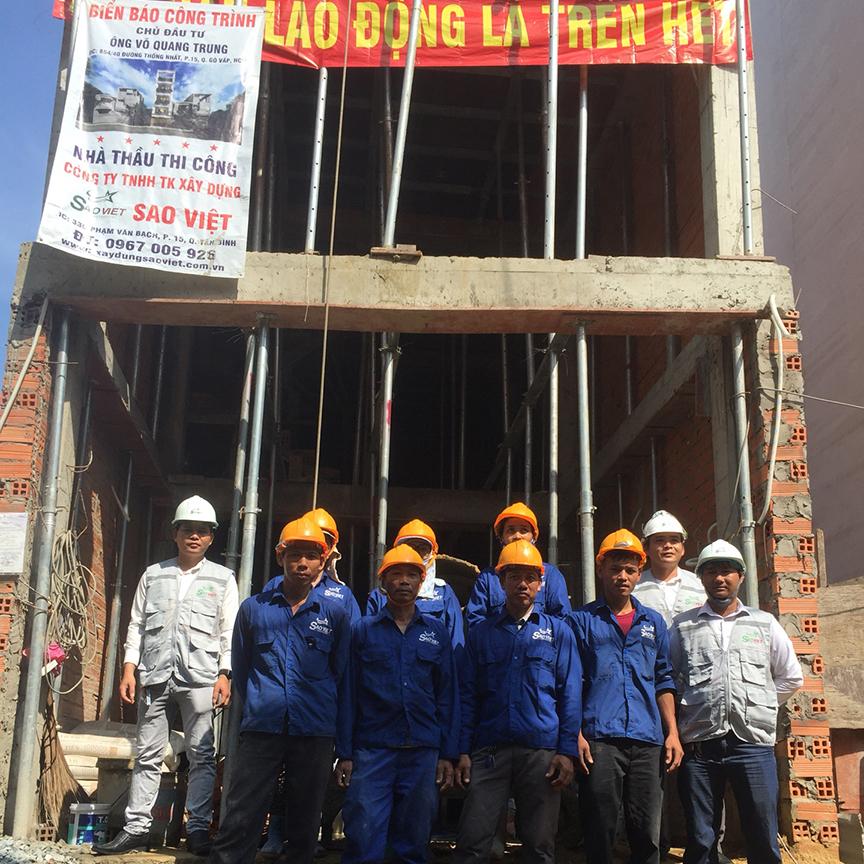 Xây nhà trọn gói uy tín Tp Hồ Chí Minh