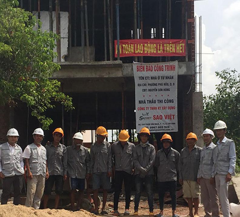 xây nhà trọn gói quận 1