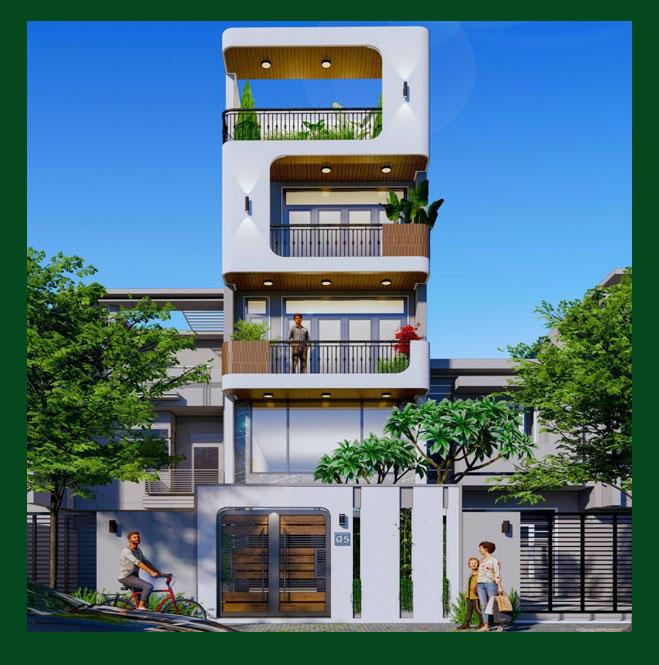 Các mẫu thiết kế nhà phố hiện đại