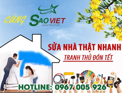 Sửa nhà đón tết cùng Sao Việt